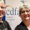 selfie of Diane Sontum and Kim Vincent at the Council of Development Finance Agencies