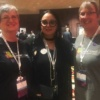 group photo with Diane Sontum, Rith Hedges and Kim Vincent at conference