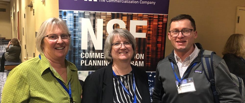 The Local Crowd team group photo in Washington as NSF conference