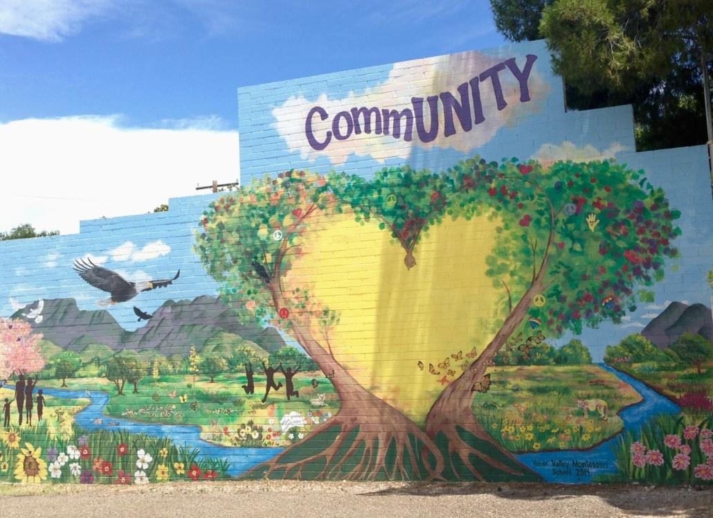 Community Mural Cottonwood AZ