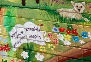Cottonwood Mural Detail