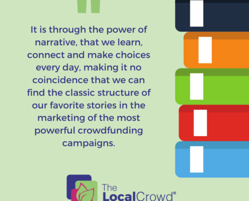 It's here, through the power of narrative, that we learn, connect and make choices every day, making it no coincidence that we can find the classic structure of our favorite stories in the marketing of the most powerful crowdfunding campaigns.