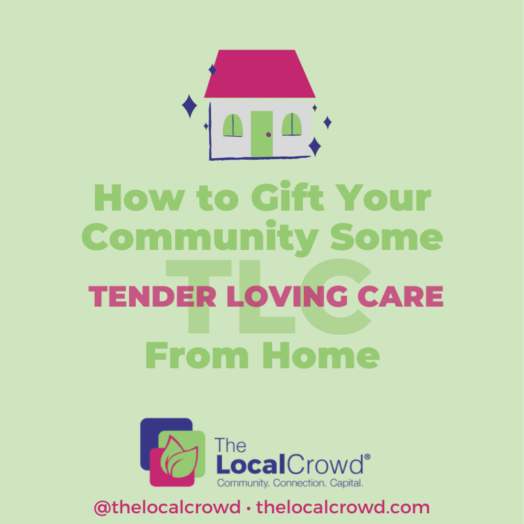 How to Support Your Community from Home