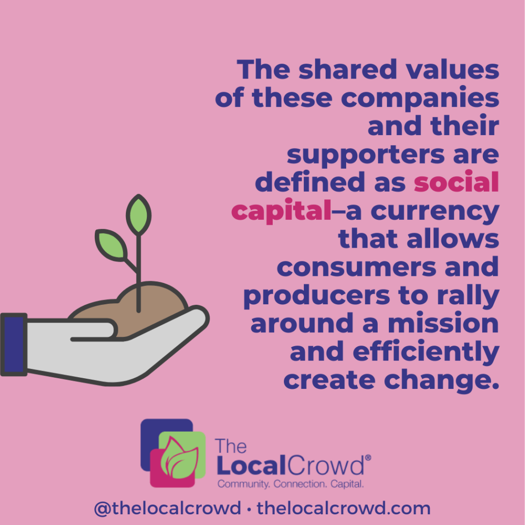 The Caring Economy: Exchanging Social Capital for Change