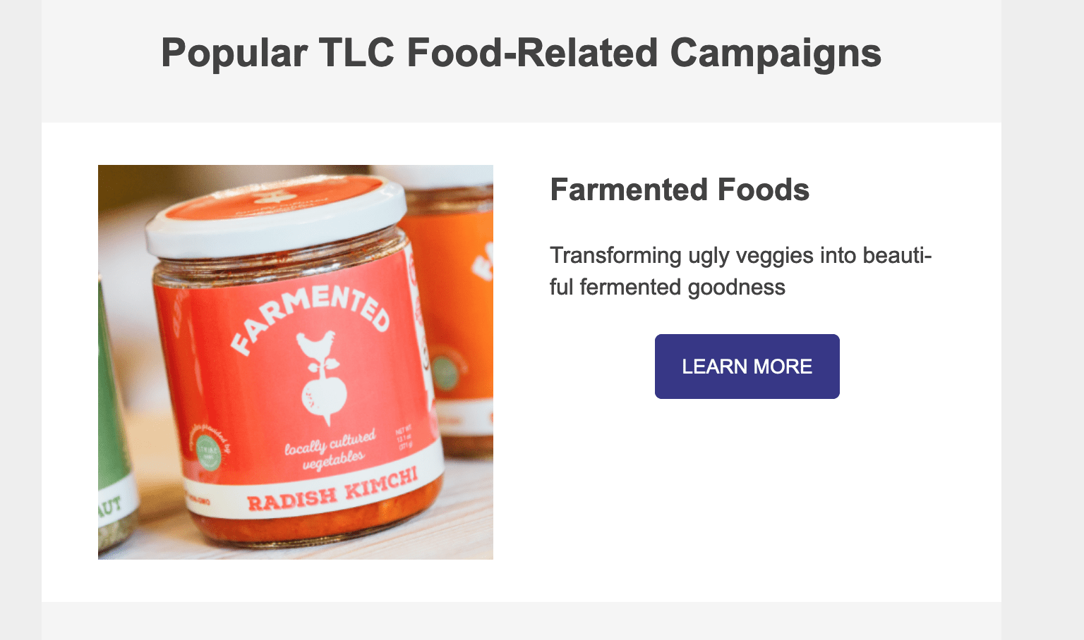 Celebrate Local Food with Crowdfunding, Farmented Foods