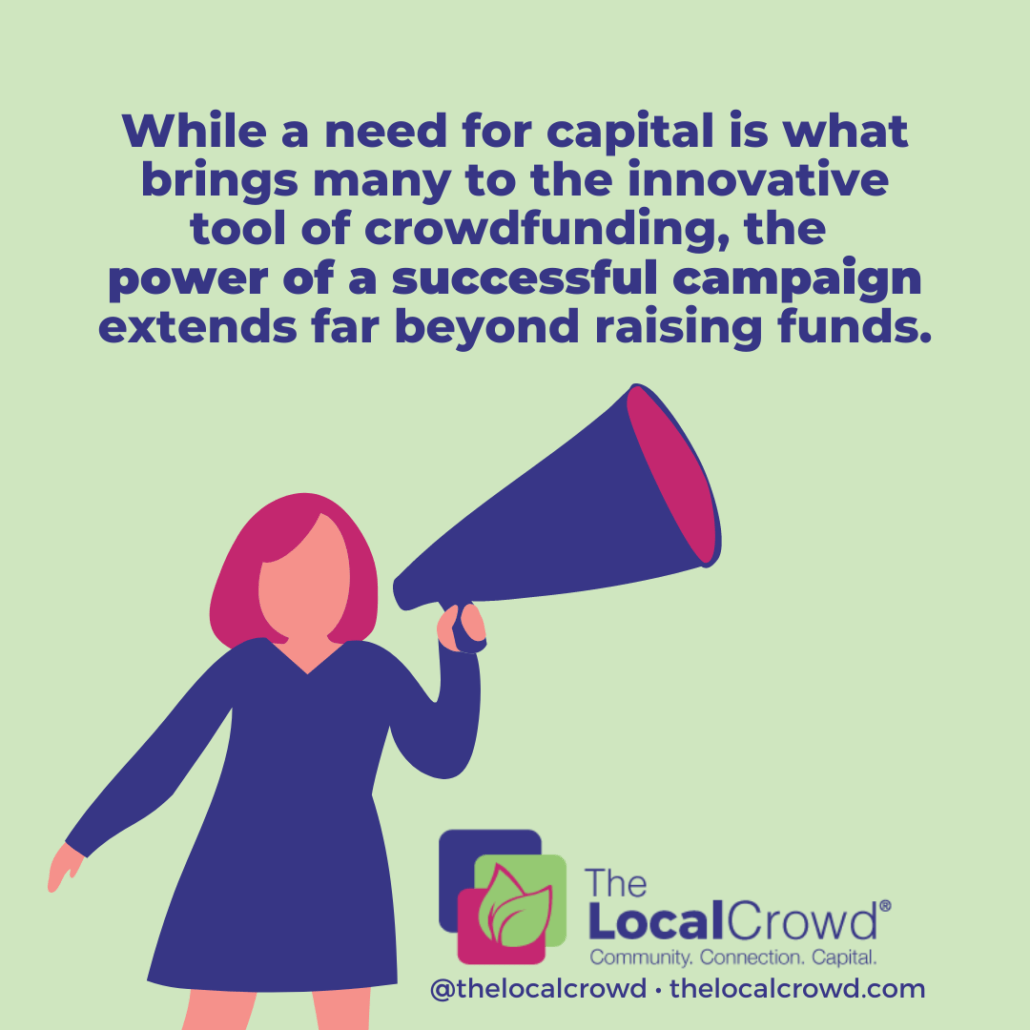 The Possibilities of Crowdfunding